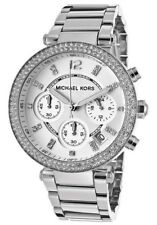 Michael Kors Original MK5353 Women's Chronograph Parker Silver Bracelet Watch