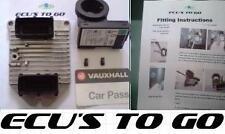 VAUXHALL/OPEL ECU ZAFIRA 1.8 Z18XE ECU KIT 09158726 We Program per auto