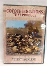 "Clint Locklear ""Coyote Locations That Produce"" DVD  Traps Trapping DVD"