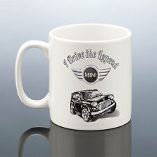 MINI COOPER MUG LEGEND CLASSIC Mini Cup Car Birthday Gift Present Men Him Dad