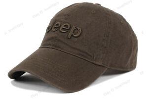 Hot Jeep Men's Cotton Hat Baseball Cap Golf Hat Ball Travel Sun Cap Outdoor Hat