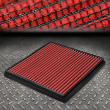 FOR 03-18 HONDA ACCORD/CIVIC ACURA TSX/TLX DROP-IN PANEL CABIN AIR FILTER RED