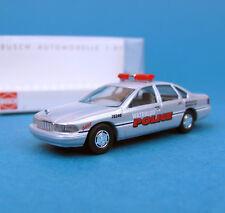 Busch h0 47628 Chevrolet Caprice Waterloo Police Canada CHEVY HO 1:87 NEUF dans sa boîte box