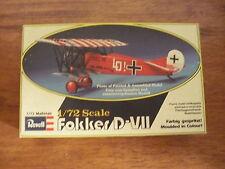 Revell 1/72 model kit Fokker D-VII reference number H-43