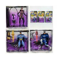 Legends Of Batman Lot Of 3 Figures Kenner 1994 Catwoman Crusader Cyborg