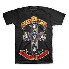 Guns N Roses- Appetite for Destruction Jumbo T-shirt Black Shirt Tee 13744353 XXL