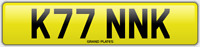KINK NUMBER PLATE DIRTY NAUGHTY SEXY CAR REG KINKY NO ADDED FEES K77 NNK BDSM