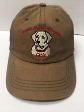 8e9dc91eec7 Bowers Harbor Vineyards Cap Hat Dog Adjustable 100% Cotton Nice