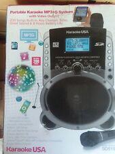 Karaoke Usa Sd519 Portable Karaoke Mp3+G Player with Video Output-New