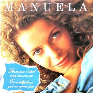 Manuela CD Single Parce Que C'était écrit Comme ça - France (VG/VG)