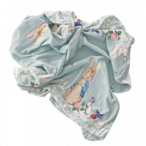 Beatrix Potter Peter Rabbit Throw Blanket - Super-Soft & Snuggly Finish - Multi