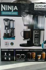 NEW!! Ninja CF081 Coffee Bar Auto-iQ Brewer with Glass Carafe FREE SHIPPING!!