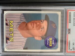 1969 Topps Tom Seaver Baseball Card #533 PSA 6