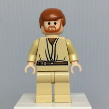LEGO Star Wars Episode 3 sw0162 Obi-Wan Kenobi Minifigure w Headset from 7661