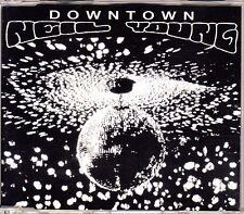 CD SINGLE promo NEIL YOUNG downtown 1-TRACK SPANISH 1995 MINT