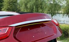 Stainless Steel Rear Trunk Lid Cover Trim For Chevrolet Cruze Sedan 2017-2018