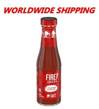 Taco Bell Fire Sauce 7.5 Oz WORLDWIDE SHIPPING