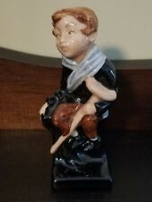 Royal Doulton Charles Dickens Series 1930s Porcelain Tiny Tim Figurine England