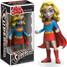 "FUNKO ROCK CANDY DC COMICS SUPERMAN SUPERGIRL 5"" DESIGNER VINYL FIGURE"