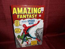Marvel Omnibus Amazing Fantasy The Amazing Spider-Man 1 Hardcover Stan Lee  HC