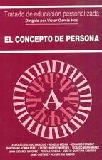 El concepto de persona. NUEVO. Nacional URGENTE/Internac. económico. RELIGION
