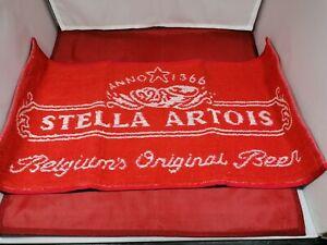 Stella Artois lager bar towel drip mat coaster beer pub home golf man cave gift