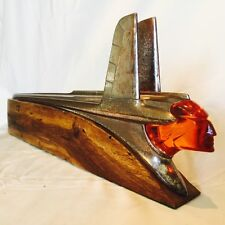 1953 PONTIAC CHIEFTAIN HOOD ORNAMENT MAN CAVE DECOR ART DECO *HOT ROD RAT ROD*