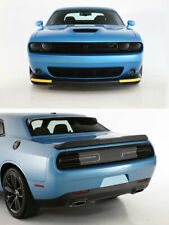 15-19 Challenger GTS Smoke Acrylic Headlight Taillight Covers 4pc GT0165S GT4174