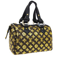 LOUIS VUITTON SPEEDY 30 HAND BAG MONOGRAM ECLIPSE BLACK M40244 VI2089 BT17316