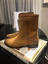 Women's Frye Boots Brown Leather Short Ankle Booties