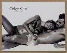 More details for jamie dornan eva mendes steven klein calvin klein underwear blank postcard mint