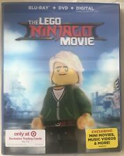 LEGO Ninjago Movie:Lenticular Pack Blu-ray/DVD/HD + 6 Trading Cards Target NEW