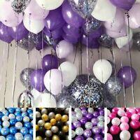 30Pcs Latex Balloons Chrome Shiny Latex Thicken For Wedding Birthday Party Baby