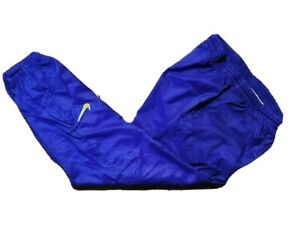Vtg 90s Nike Insulated Windbreaker TrackSuit Lined Purple Pants- Womens Sz 12-14