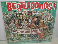 "1982 Beatles Novelty Record Collection LP ""Beatlesongs"" Near Mint  12 Tracks"