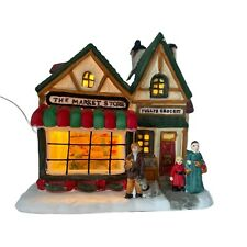 The Market Store Christmas Village Porcelain Lighted House