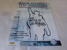 RAGE AGAINST THE MACHINE - Publicité de magazine / Advert THE BATTLE !!!