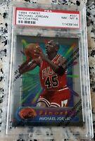 MICHAEL JORDAN 1994 Topps Finest RARE PSA 8 HOF Chicago Bulls 6 x Champion MVP