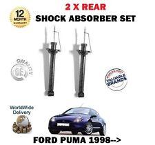 para Ford Puma 1.4 1.6 1.7 ST160 1998> NUEVO 2x AMORTIGUADOR TRASERO SET