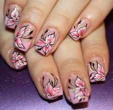 Blüten NailArt Sticker Nagelsticker Nageldesign Tattoo 00027 - 20 Stück
