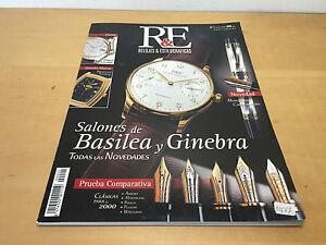 Magazine Rivista Orologi & Penne Stilografiche - Nº1 Maggio 2000 - Basel E