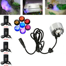 ✅RGB LED Air Humidifier Mist Maker Fountain Fogger Aquarium Atomizer Ultrasonic