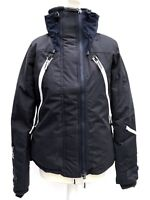 Superdry Navy Womens Ski Jacket Snow Rider Dark Marl SIZE M L