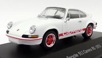 Atlas Editions 1/43 Scale 7 114 002 - 1973 Porsche 911 Carrera RS - White