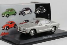 1955 Volkswagen VW Karmann Ghia Silver 1:3 2 Schuco Gauge 1 Diecast