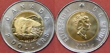 Proof Like 2001 Canada 2 Dollars From Mint's Set