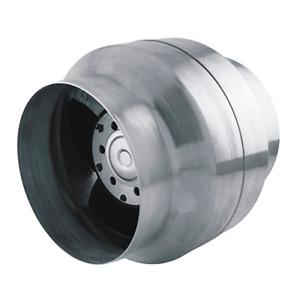 Axiale Rohrventilatoren zur Be- und Entlüftung mit einer Luftförderleistung von