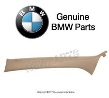For BMW E46 3-Series Front Passenger Right Inner A Pillar Trim Panel Beige OES