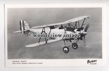 ac1275 - Aircraft - Hawker Tomtit - postcard by Flight