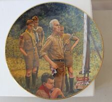 "Norman Rockwell Collector Plate ""Beyond the Easel"" Gorham China w/Box L#1504"